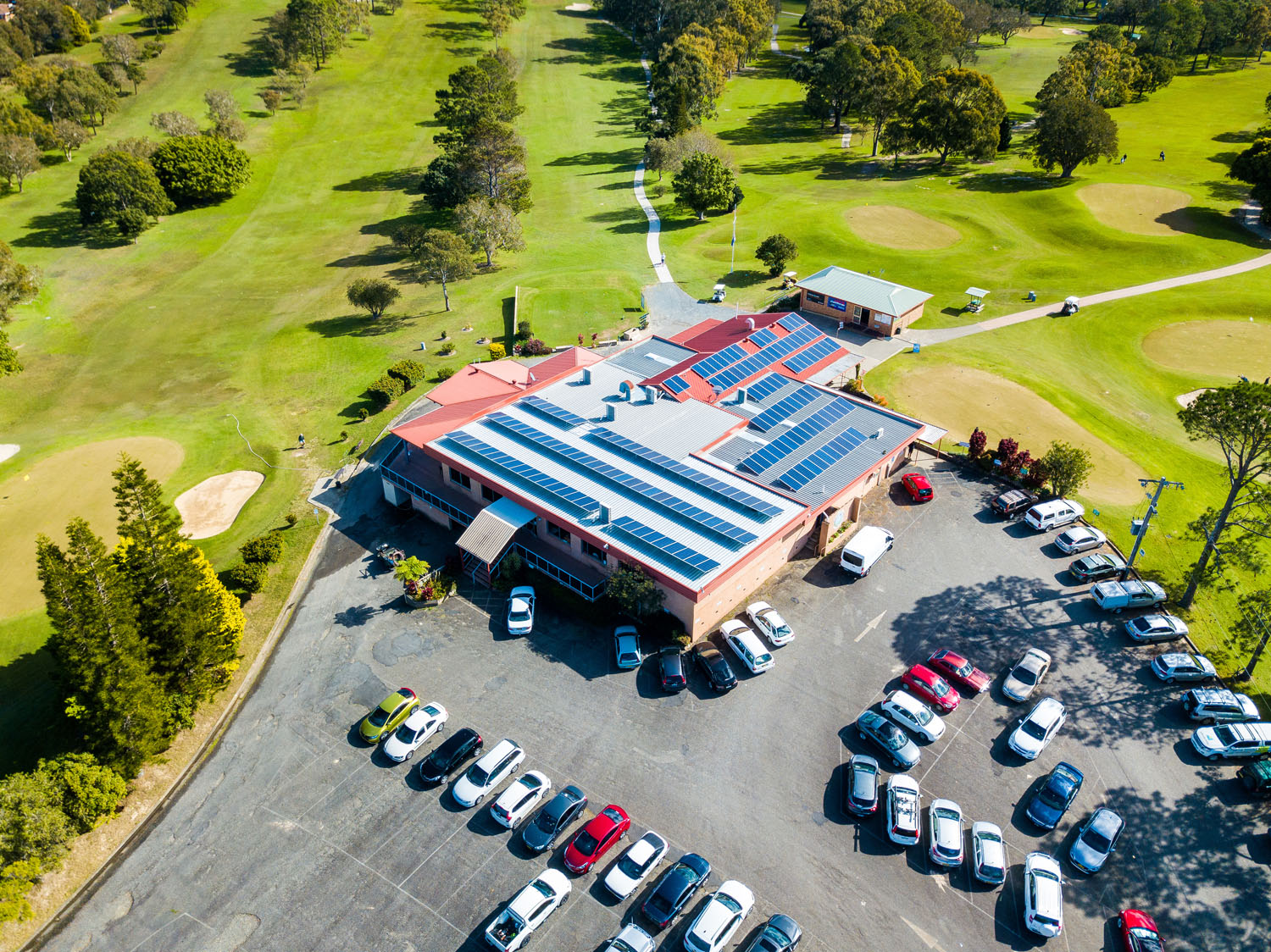 Sawtell Golf Club Coffs Solar Energy